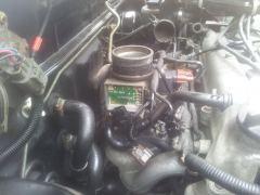 locatie luchtmassa sensor